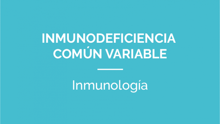 InmunodeficienciaComunVariable-PATOLOGIA