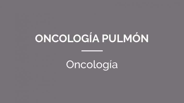OncologiaPulmon-PATOLOGIAS